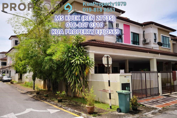 For Sale Townhouse at One Residency Garden and Courtyard Villas, Kuching Leasehold Semi Furnished 4R/3B 530k