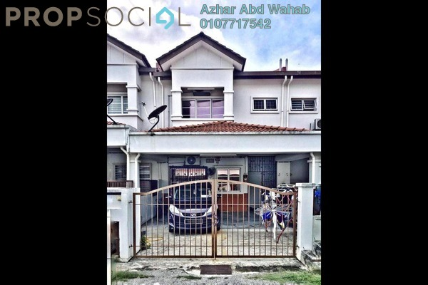 For Sale Terrace at Taman Seri Alam, Sungai Buloh Freehold Semi Furnished 4R/3B 410k