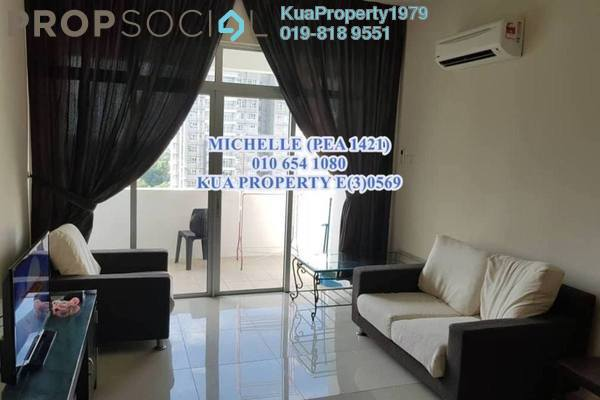 For Rent Condominium at SkyVilla Condominium, Kuching Freehold Semi Furnished 3R/2B 1.4k