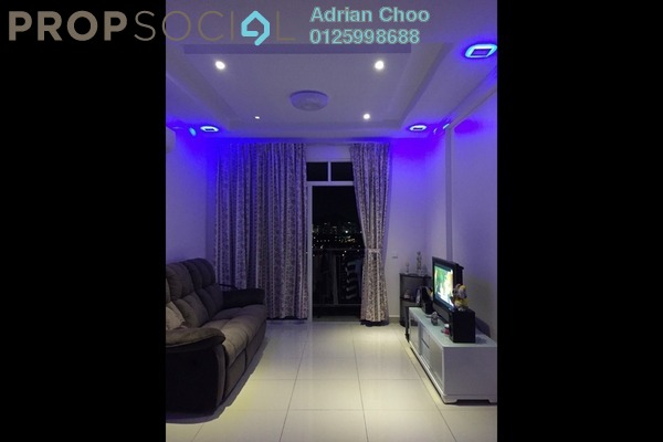 For Sale Condominium at Reflections, Sungai Ara Freehold Fully Furnished 3R/2B 660k