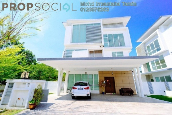 For Sale Bungalow at Garden Residence, Cyberjaya Freehold Semi Furnished 7R/6B 2.6m