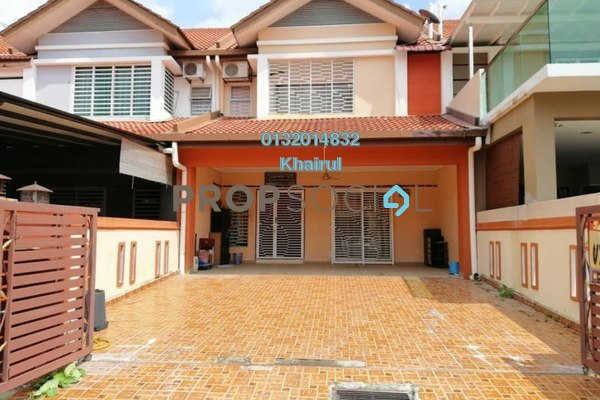 For Sale Terrace at Bandar Springhill, Sendayan Freehold Semi Furnished 4R/3B 375k