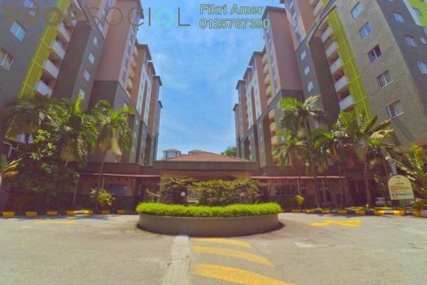 For Sale Condominium at Aliran Damai, Cheras South Freehold Unfurnished 4R/2B 328k