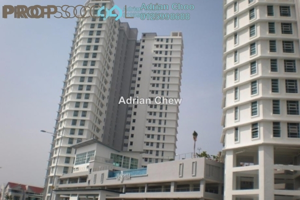 For Sale Condominium at The Brezza, Tanjung Tokong Leasehold Unfurnished 3R/2B 720k