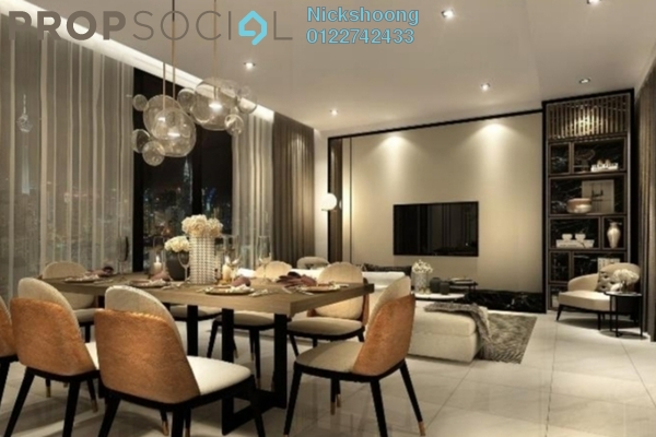 For Sale Condominium at Picasso Residence, Ampang Hilir Freehold Fully Furnished 2R/2B 1.09m