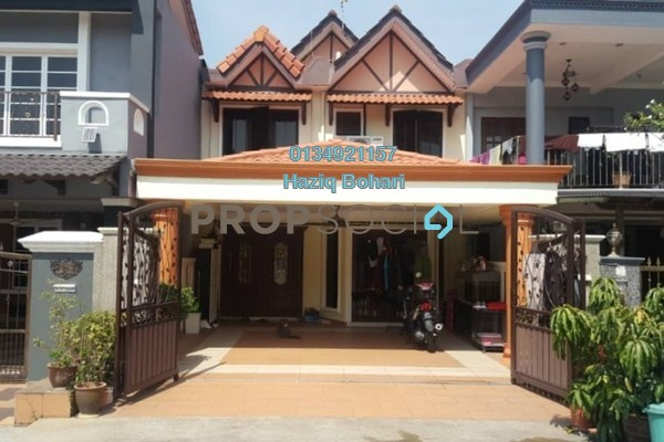 For Sale Terrace at Section 19, Shah Alam Freehold Semi Furnished 4R/3B 615k