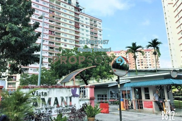 For Sale Condominium at Vista Amani, Bandar Sri Permaisuri Freehold Semi Furnished 4R/2B 380k