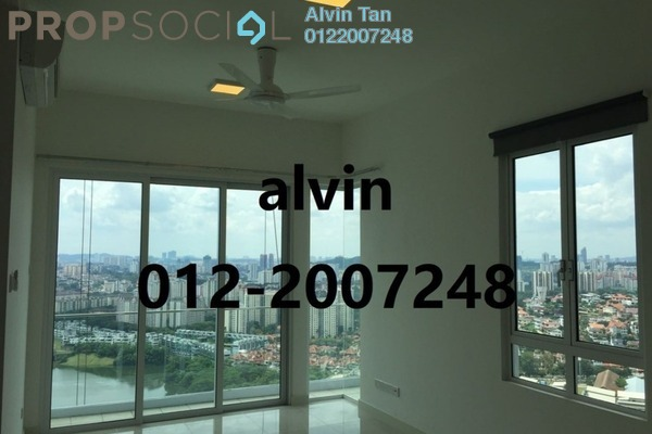 For Sale Condominium at Desa Green Serviced Apartment, Taman Desa Freehold Semi Furnished 3R/2B 588k