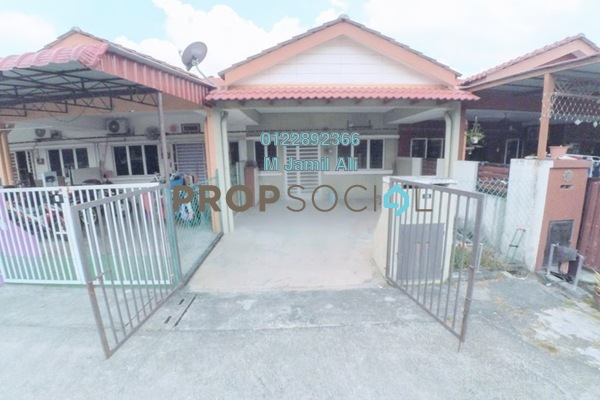 For Sale Terrace at Section 30, Shah Alam Freehold Semi Furnished 4R/2B 380k