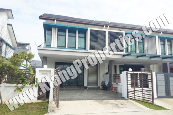 For Sale Terrace at Paloma, Bandar Bukit Raja Freehold Unfurnished 4R/3B 900k