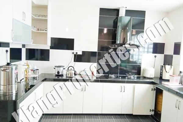 For Sale Terrace at Bandar Parklands, Klang Freehold Fully Furnished 4R/4B 860k