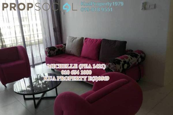 For Rent Condominium at Gala Residences, Kuching Freehold Semi Furnished 2R/2B 2.4k