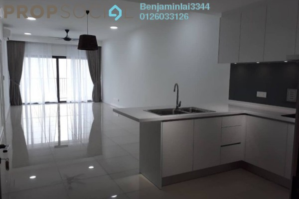 For Rent Condominium at The Westside Three, Desa ParkCity Freehold Semi Furnished 2R/2B 3.5k