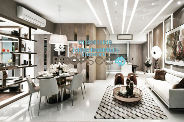 For Sale Condominium at Saujana Residency, Subang Jaya Freehold Semi Furnished 1R/1B 380k