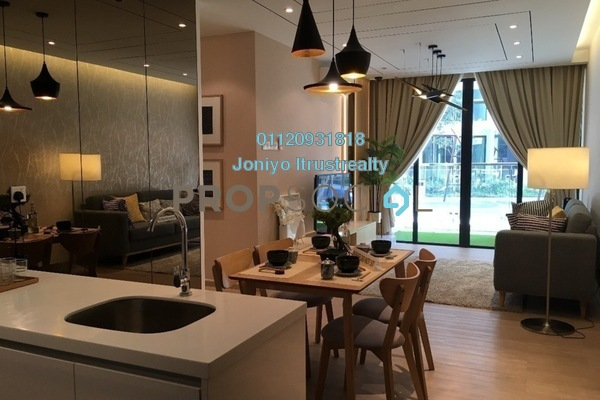 For Sale Condominium at H2O Residences, Ara Damansara Freehold Semi Furnished 3R/2B 645k