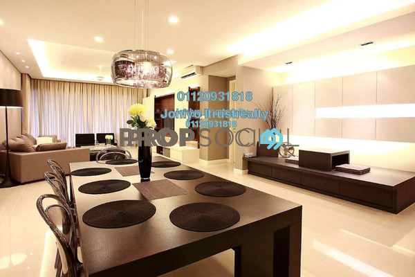 For Sale Condominium at Tropicana Grande, Tropicana Freehold Semi Furnished 3R/2B 580k