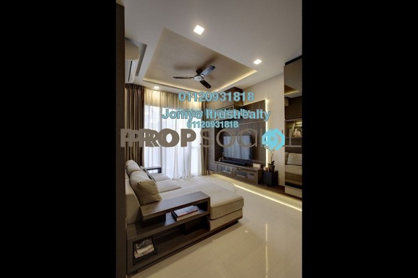 For Sale Condominium at Tropicana Gardens, Kota Damansara Freehold Semi Furnished 1R/1B 370k