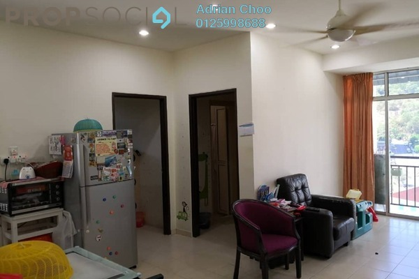 For Sale Apartment at Taman Evergreen, Tanjung Tokong Freehold Fully Furnished 3R/2B 450k