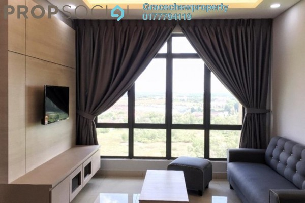 For Rent Serviced Residence at Arcadia, Pulau Tikus Freehold Fully Furnished 2R/2B 1.4k