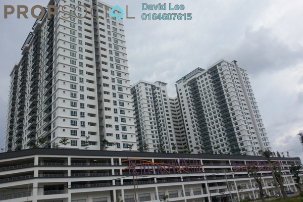 For Sale Condominium at Tropicana Bay Residences, Bayan Indah Freehold Semi Furnished 3R/2B 680k