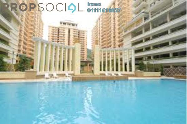 For Rent Condominium at Platinum Hill PV8, Setapak Freehold Semi Furnished 3R/2B 2k