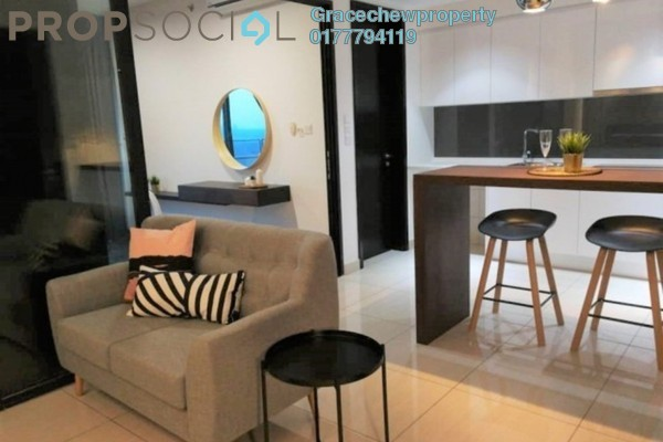 For Rent Apartment at Almaspuri, Mont Kiara Freehold Fully Furnished 1R/1B 1.6k
