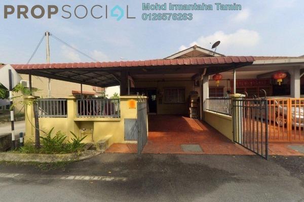 For Sale Terrace at Taman Sungai Kapar Indah, Kapar Freehold Semi Furnished 4R/2B 400k