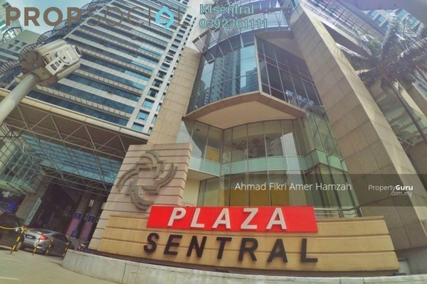 For Rent Office at Plaza Sentral, KL Sentral Freehold Fully Furnished 0R/0B 1.7k