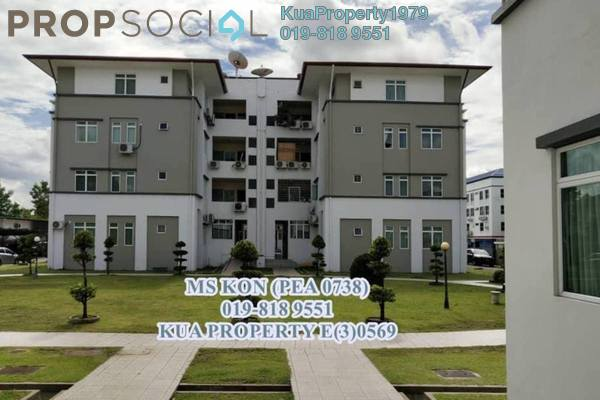 For Sale Apartment at Tabuan Stutong Apartment, Kuching Leasehold Unfurnished 4R/2B 470k