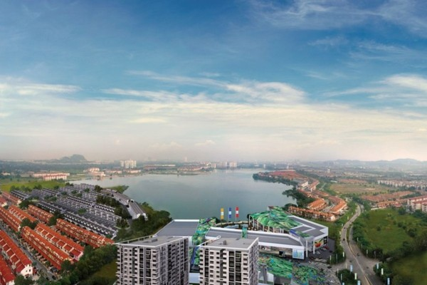 For Sale Condominium at The Wharf, Puchong Leasehold Unfurnished 2R/2B 340k
