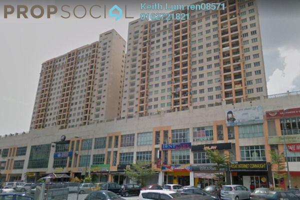 For Rent Condominium at Connaught Avenue, Cheras Freehold Unfurnished 3R/2B 1.2k