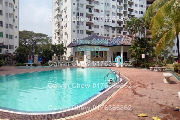 For Sale Condominium at Sri Suajaya, Sentul Freehold Unfurnished 3R/2B 257k