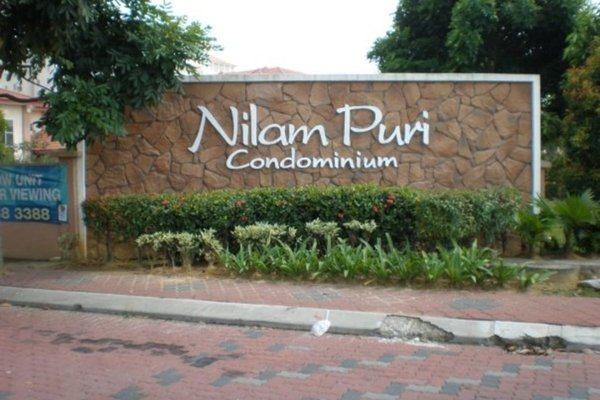 For Rent Condominium at Nilam Puri, Bandar Bukit Puchong Freehold Semi Furnished 3R/2B 1.11k