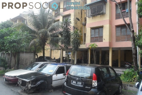 For Sale Apartment at Taman Dato Ahmad Razali, Ampang Leasehold Unfurnished 2R/1B 150k