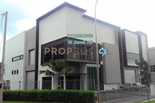 For Rent Factory at Taman Bukit Serdang, Seri Kembangan Freehold Semi Furnished 0R/2B 28k