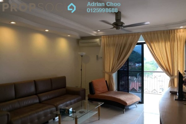 For Sale Apartment at Golf View Apartment, Bukit Jambul Leasehold Semi Furnished 3R/2B 460k