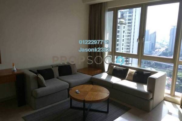 For Rent Condominium at myHabitat, KLCC Freehold Fully Furnished 2R/2B 3.5k