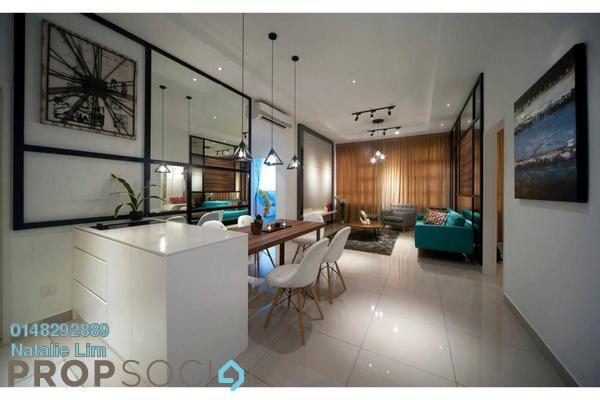 For Sale Serviced Residence at Platinum Arena, Old Klang Road Leasehold Semi Furnished 4R/3B 545k
