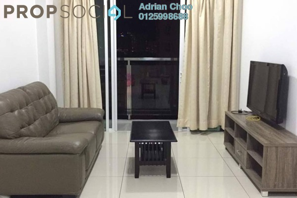 For Rent Condominium at Tropicana Bay Residences, Bayan Indah Freehold Fully Furnished 3R/2B 1.95k
