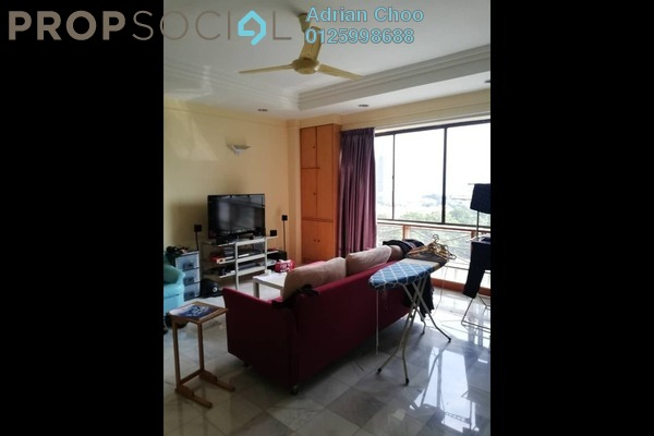 For Rent Condominium at Pearlvue Heights, Tanjung Tokong Freehold Fully Furnished 3R/2B 1.2k