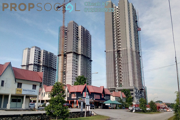 For Sale Apartment at PR1MA Homes @ Residensi Kajang Utama, Kajang Freehold Unfurnished 3R/2B 260k