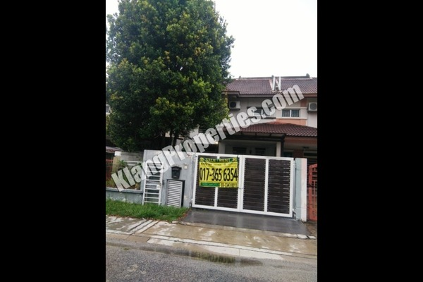 For Rent Terrace at Bandar Botanic, Klang Freehold Fully Furnished 4R/3B 1.8k