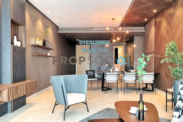 For Sale Serviced Residence at DC Residency, Damansara Heights Freehold Semi Furnished 2R/1B 2.28m