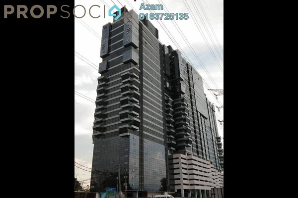 For Sale Office at 3 Towers, Ampang Hilir Freehold Semi Furnished 0R/1B 750k
