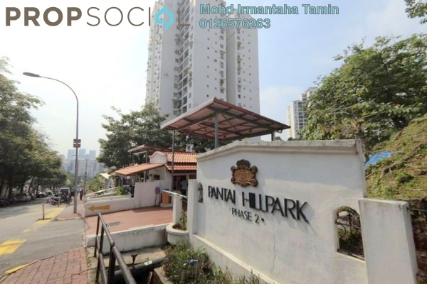For Sale Condominium at Pantai Hillpark 2, Pantai Freehold Semi Furnished 3R/2B 485k