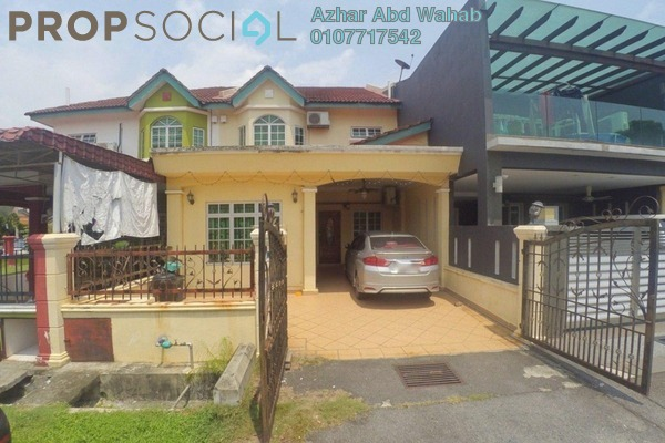 For Sale Terrace at Seksyen 9, Bandar Baru Bangi Leasehold Semi Furnished 4R/3B 650k