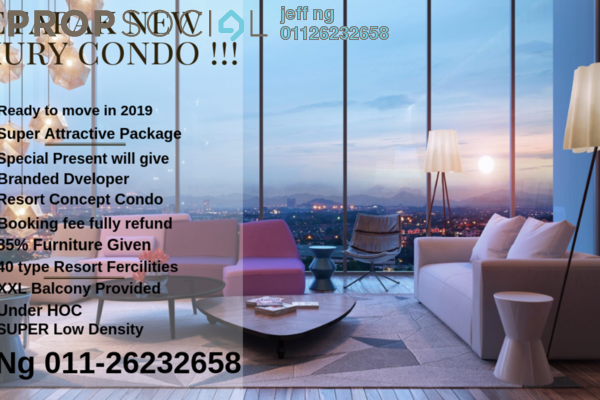 For Sale Condominium at Bennington Residences @ SkyArena, Setapak Freehold Semi Furnished 3R/2B 670k