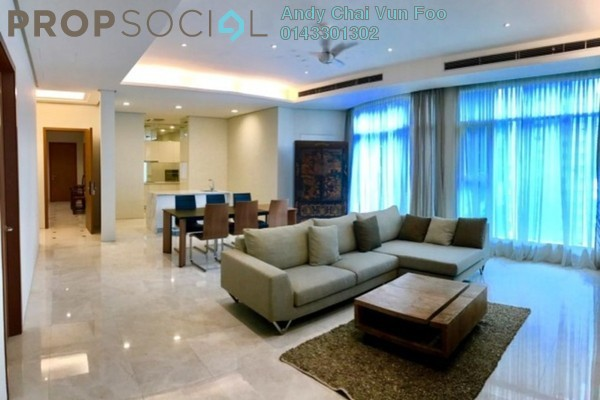 For Rent Condominium at Quadro Residences, KLCC Freehold Fully Furnished 5R/4B 11k