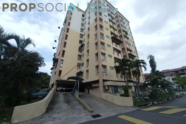 For Sale Condominium at Le Jardine, Pandan Indah Leasehold Unfurnished 3R/2B 320k