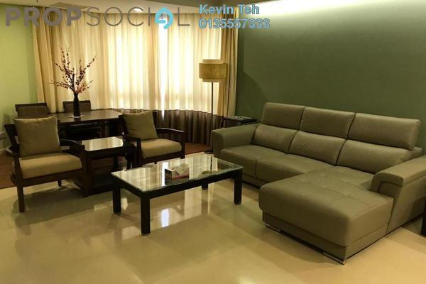 For Rent Condominium at i-Zen Kiara II, Mont Kiara Freehold Fully Furnished 4R/3B 6.0千